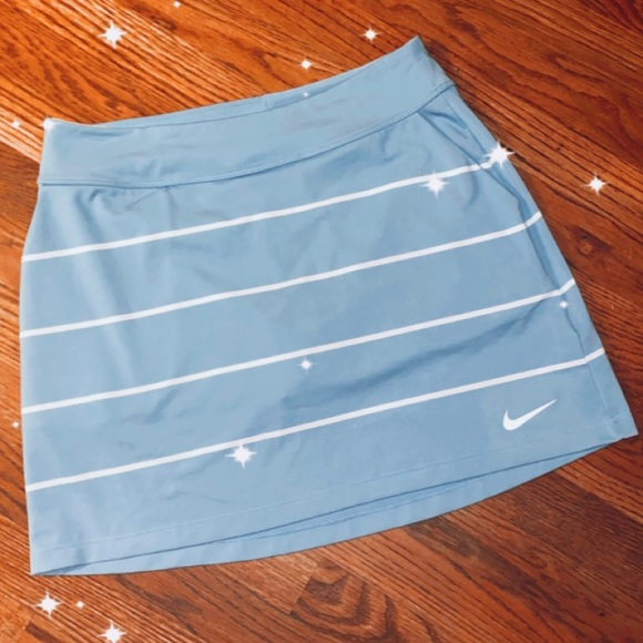 ✨SOLD✨NIKE BLUE/WHITE TENNIS SKIRT!! (NEVER WORN)